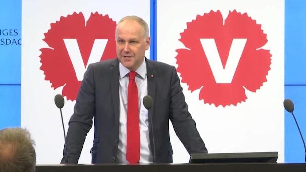 Jonas Sjöstedt: Förändringarna bevarar ojämlikheten