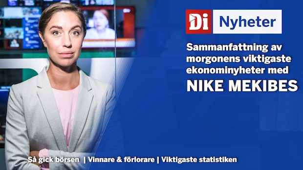 Di Nyheter: Stockholmsbörsen vänder ner - Sandvik har det tyngst