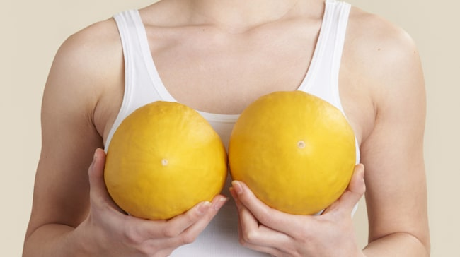 kliande bröstgård tidig graviditet