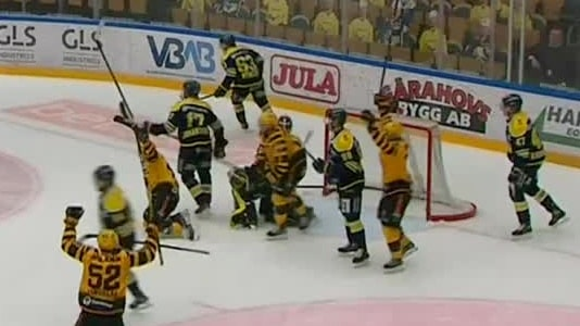 Highlights: Platt HV71 föll mot Skellefteå