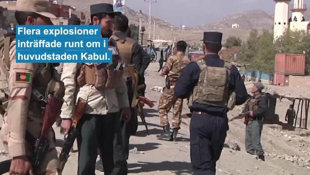 Många döda efter valet i Afghanistan