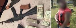 Två män döms för massivt vapenfynd