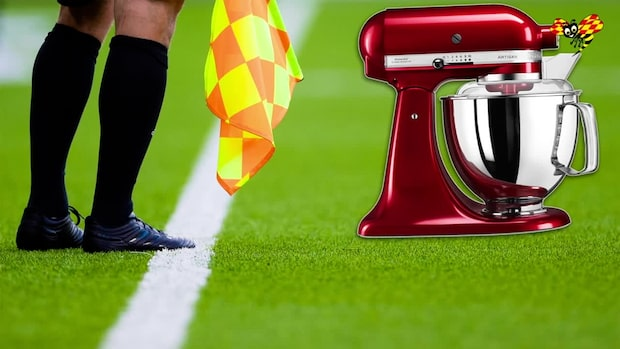 Svensk fotbollsdomare stal bakmaskin på Ica Maxi