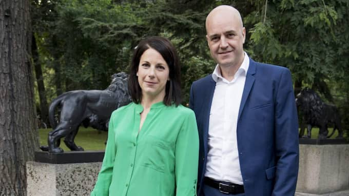 Roberta Alenius och Fredrik Reinfeldt bor nu i Vasastan i centrala Stockholm. Foto: Olle Sporrong