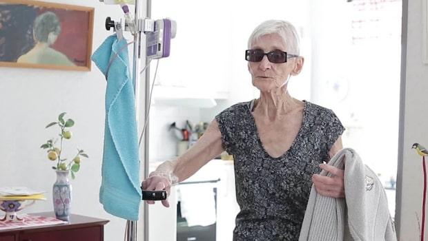 Elsie, 86, väger bara 32 kilo – nekades vård