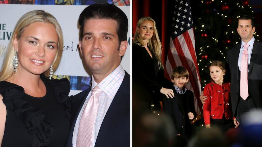 Efter 12 års äktenskap har makarna Vanessa Trump och Donald