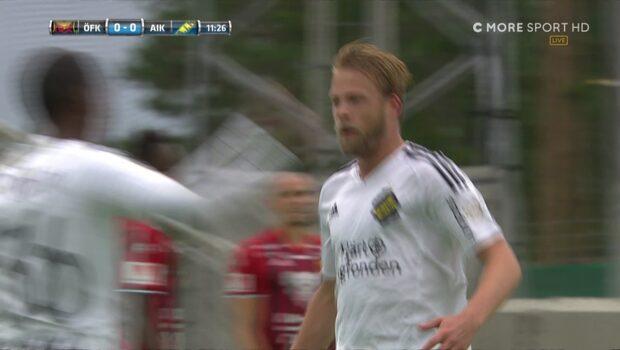 Sundgrens slalommål ger AIK ledningen