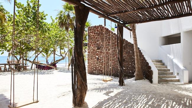 Pablo Escobars sommarresidens i Mexiko har blivit ett lyxhotell.