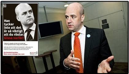 """STATSMINISTERN UPPRÖRD. Fackförbundet LO:s EU-valannons har fått Fredrik Reinfeldt att reagera. """"Den är enormt negativ och dessutom utfallande mot just mig"""", säger han. Foto: Christian Örnberg"""