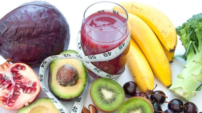 nyttig mat gå ner i vikt