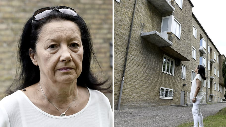 Dragana Sandberg, 65, bor i Limhamn med Limhamnshus som hyresvärd.I