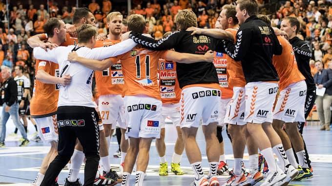 IFK Kristianstad firar – igen. Foto: PETTER ARVIDSON / BILDBYRÅN