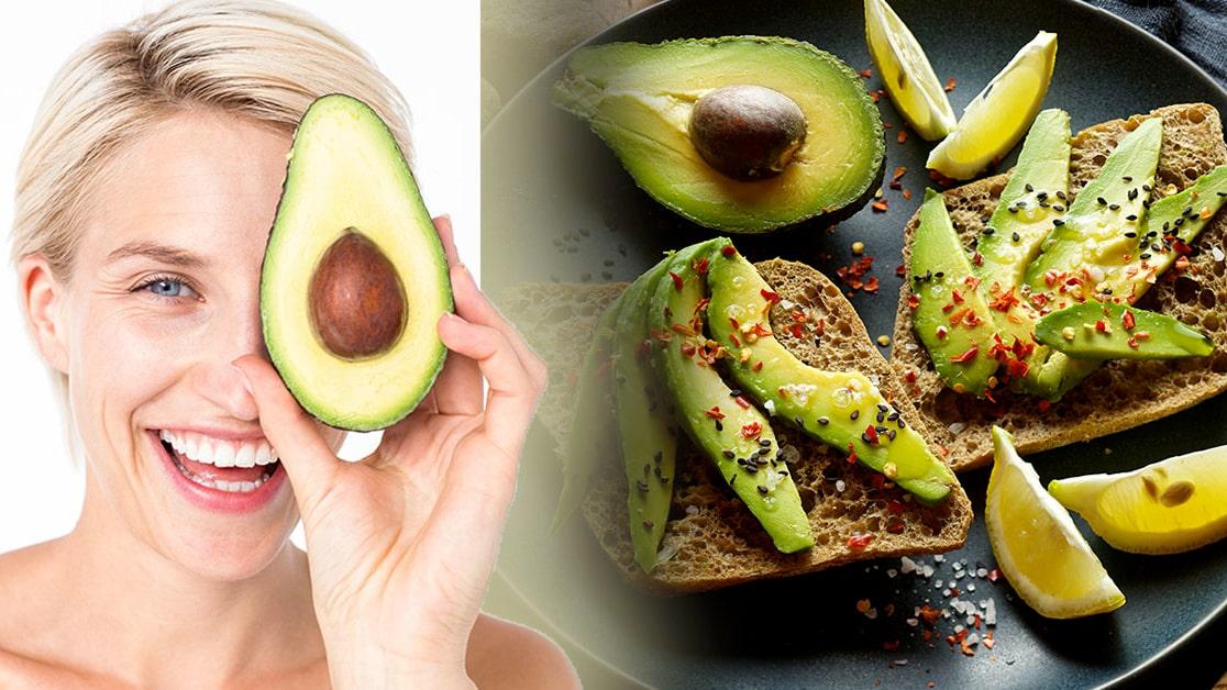 äta avokado gravid