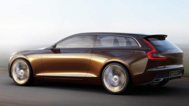 Concept Estate bygger på den nya plattform som kommer sitta i alla nya Volvo-bilar framöver.