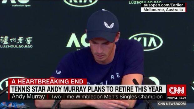 Här bryter Andy Murray ihop i tårar