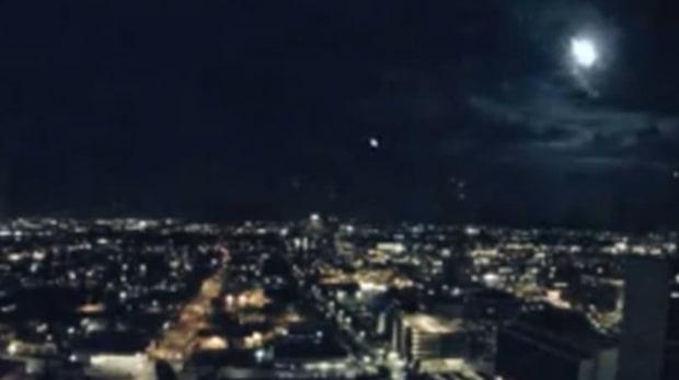 Ljusfenomenet på natthimlen förbryllande invånare i Phoenix