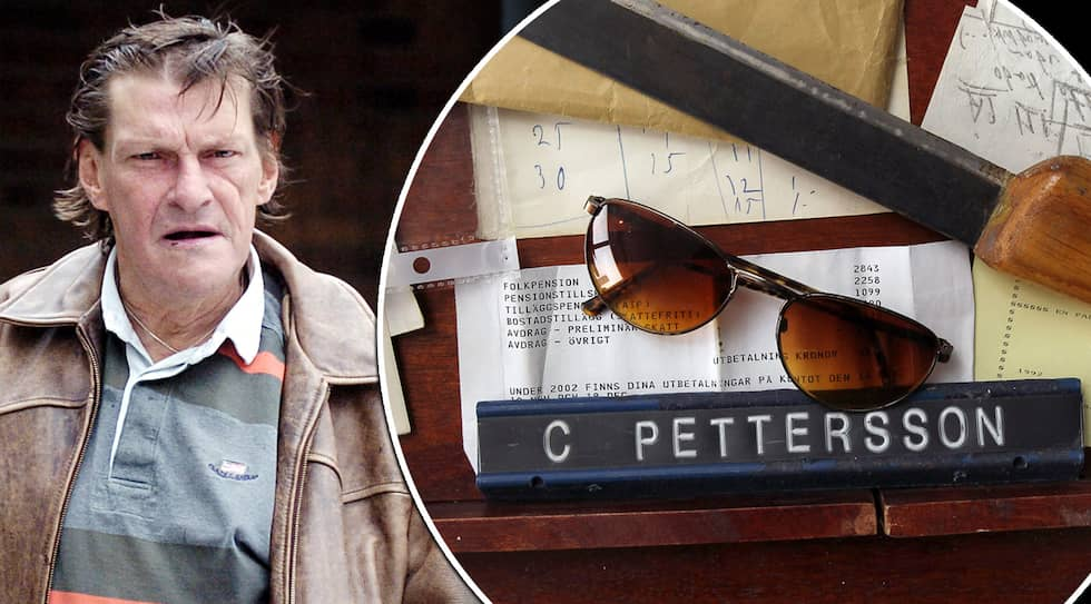 Christer Pettersson lämnade efter sig 35 sopsäckar med sitt arkiv och tillhörigheter. Frågan som nu ställs är om han hade ett hemligt förråd som polisen missade.