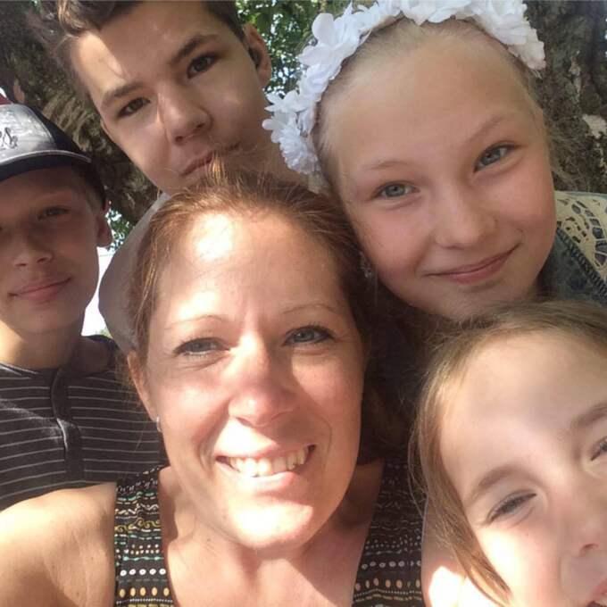 Nu har vänner till familjen startat en insamling som ska finansiera en behandling i Tyskland. Foto: Privat