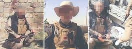 Tvåbarnspappa poserade med döda IS-terrorister i Irak