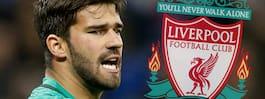 Målvaktsstjärnan  klar för Liverpool