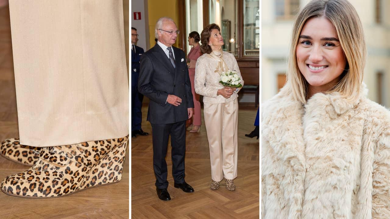 """Silvias leopardmönstrade skor: """"Modigt val"""""""