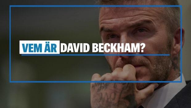 Vem är David Beckham?