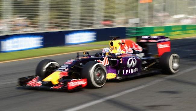 HOTAR LÄMNA. Red Bull-stallet vill se regeländringar i formel 1.