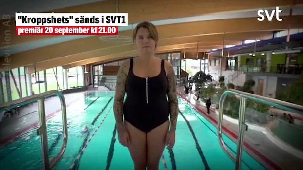 """Mia Skäringer i SVT:s """"Kroppshets"""""""