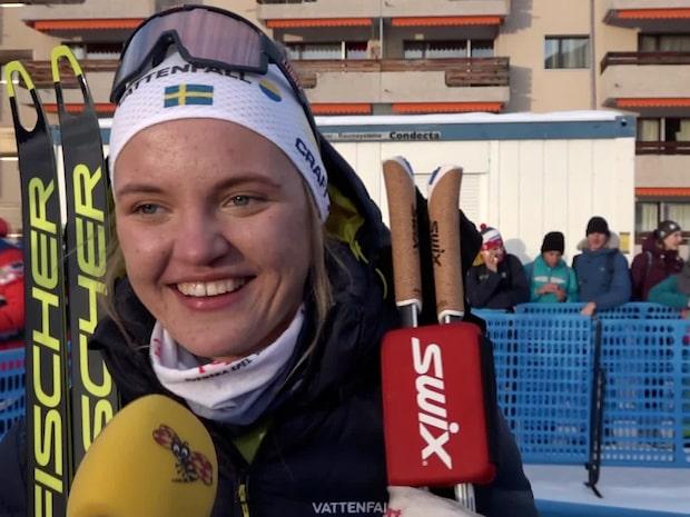 """Linn Svahns jätteskräll: """"Har varit mitt mål"""""""