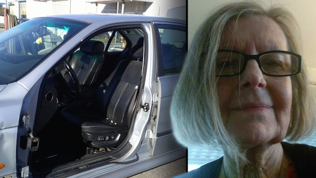 Se hur Christinas bildörr blev stulen