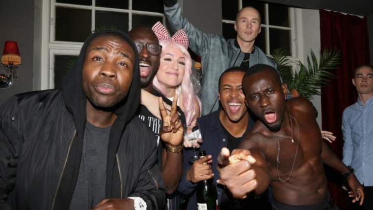 "Panetoz och Dolly Style firade efter ""Andra chansen"". Foto: Stella Pictures"