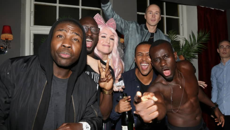 """Panetoz och Dolly Style firade efter """"Andra chansen"""". Foto: Stella Pictures"""