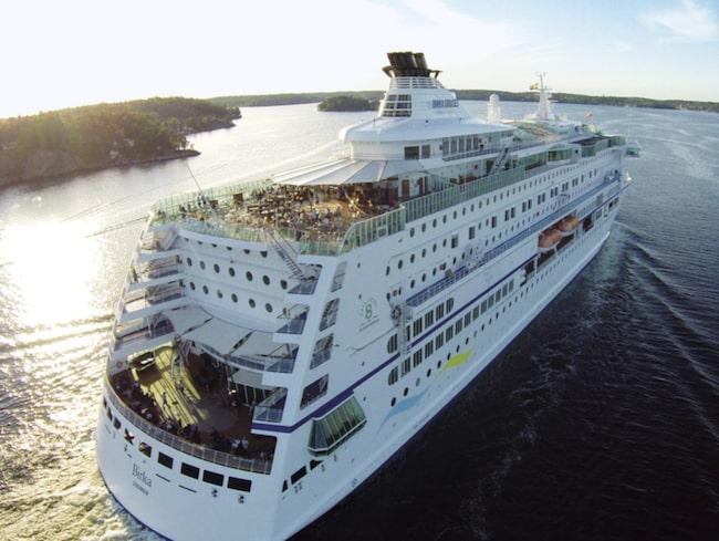 <span>Passagerarna får en hissnande vacker utsikt på turen.<br></span>