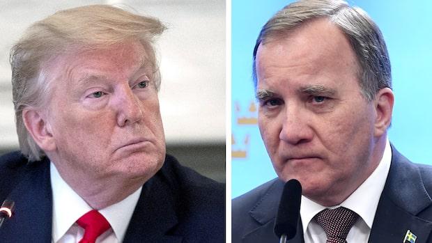 Trumps vändning om Sverige –hyllningar från flera håll efter kritiken
