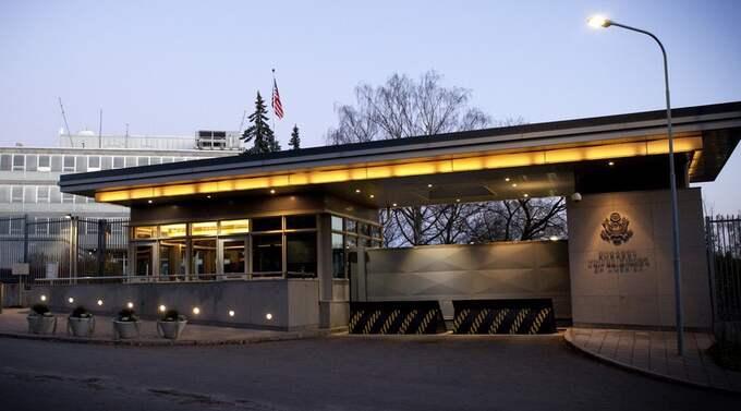 GER BERÖM. Amerikanska ambassaden i Stockholm beskriver samarbetet med Sverige som utomordentligt bra. Foto: Martina Huber