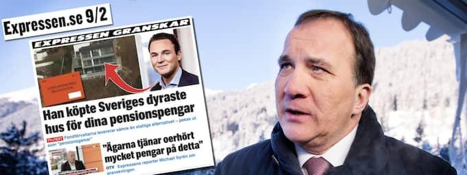 Granskningen har fått Stefan Löfven att kalla alliansen till pensionssamtal.