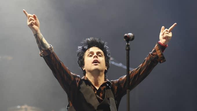 Bille Joe Armstrong i Green Day Foto: Magnus Liljegren / STELLA PICTURES MAGNUS LILJEGREN