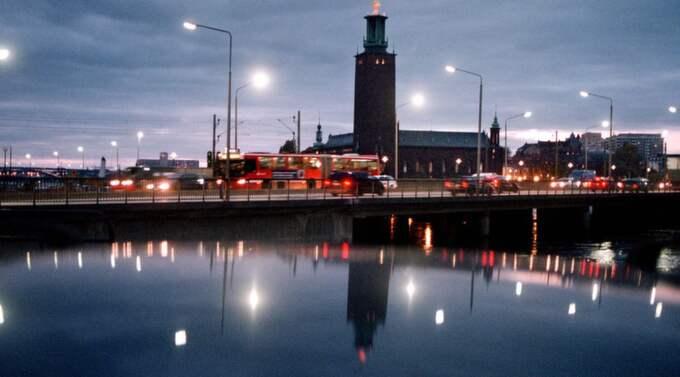 Stockholmsregionen växer så det knakar. Foto: Jan E Carlsson