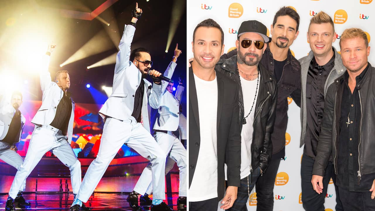 Backstreet Boys to Sweden 2019