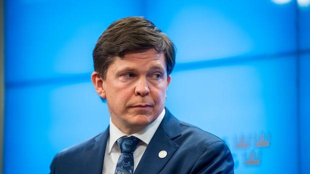 Talman Andreas Norlén föreslår Löfven till statsminister