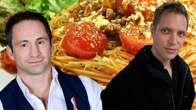 Paolo Roberto och Kostdoktorn i en beef om pasta.