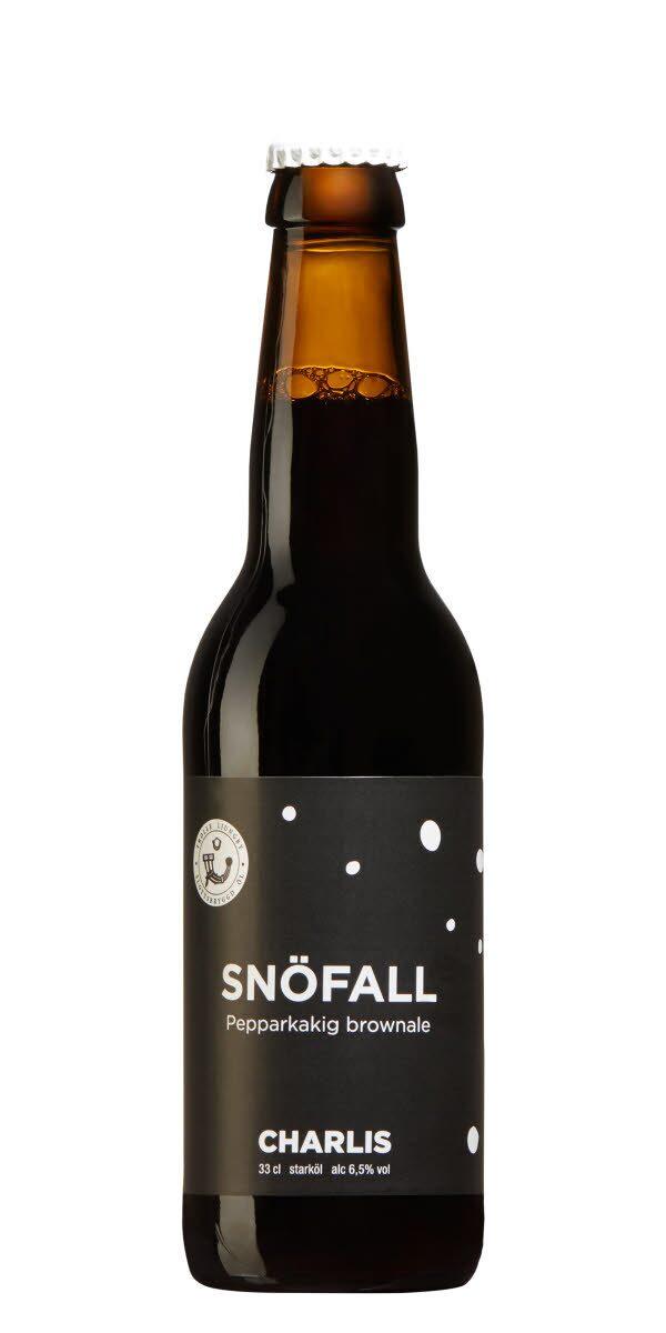 Charlis Snöfall. En kryddig maltbomb med fylliga toner av kaffe.