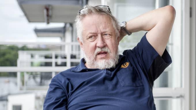 Leif GW Persson tror att polisen har hittat rätt – han utesluter heller inte gripanden av fler personer. Foto: Simon Hastegård