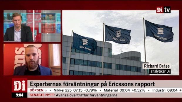 Ericsson gör nedskrivning på 14,2 miljarder