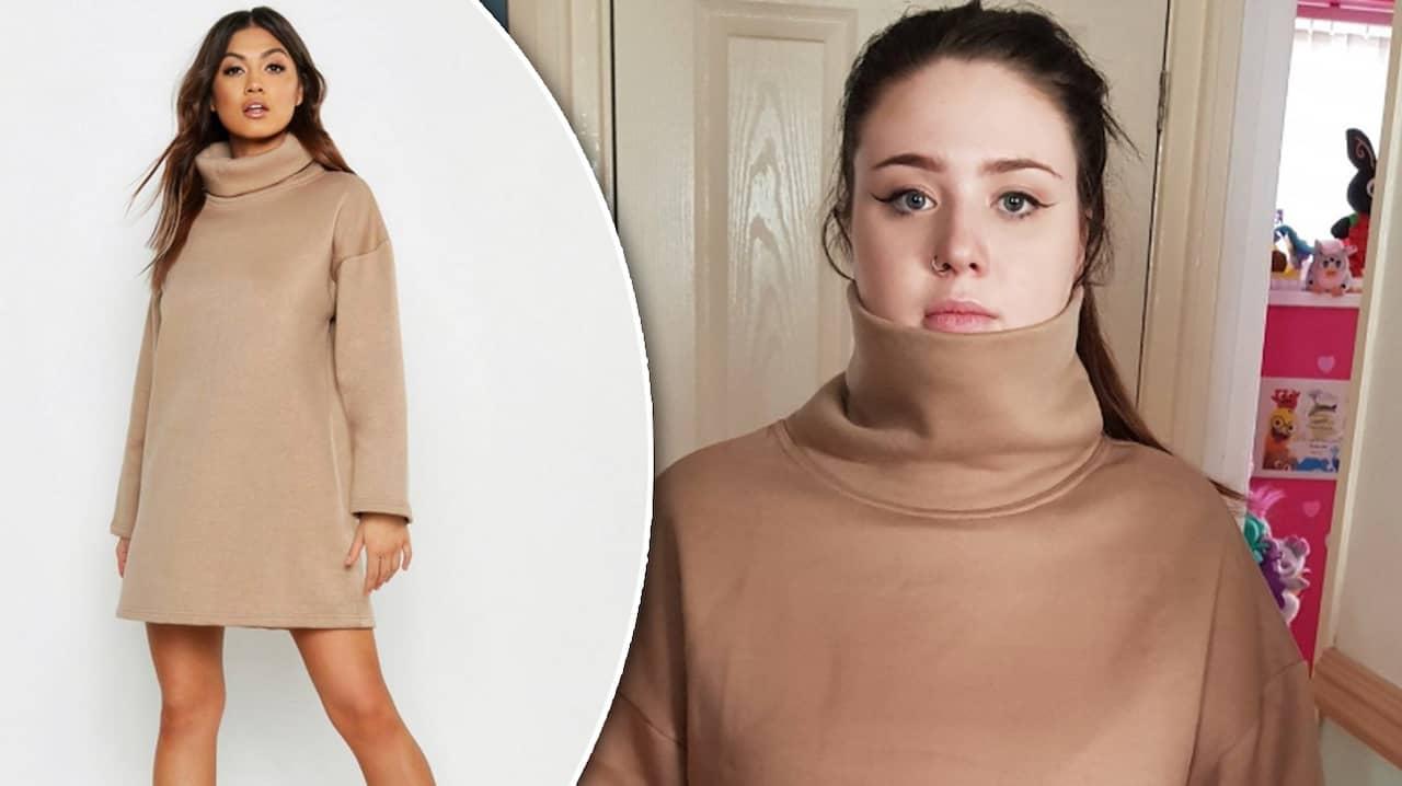 7b05d26d5661 Paige beställde klänning – var inte det hon trodde