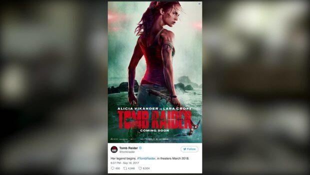 Nya bilden på Alicia Vikander förvirrar fansen