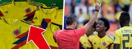 Osannolika fyndet – i landets VM-tröjor