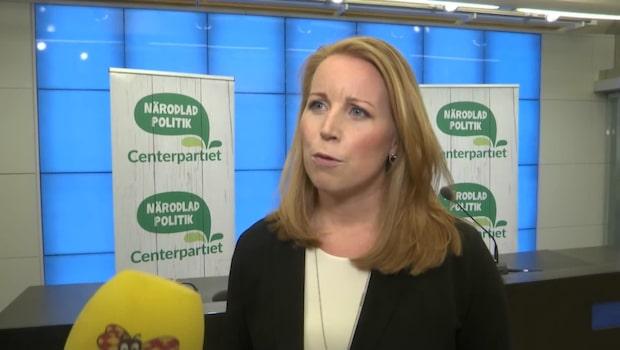 Centerpartiet röstar för regeringens förslag