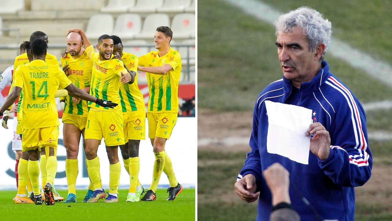 Raymond Domenech Back After Ten Years Coaches Nantes En En24 Sport