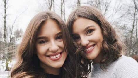 "Emma och Amelia står bakom kontot ""Vegansk matlåda"" på Instagram. Foto: @veganskmatlåda"